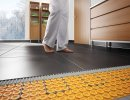 The floor heating : happiness under the feet!